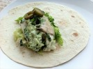 Baja fish tacos with chipotle lime crema
