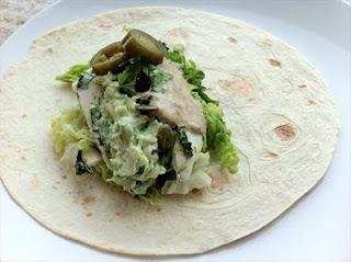 Baja fish tacos with chipotle lime crema