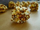 Truffled popcorn balls- Moneyball