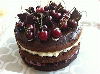 Black forest and a chocolate sponge- the last birthday cake building block