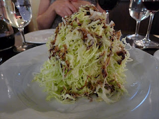 Best things I ate in Sydney- Sopra CBD shaved cabbage salad