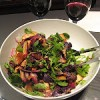 Damsons in distress (a damson duck salad)