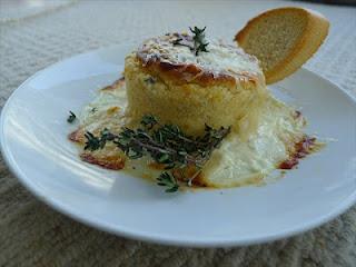 Twice baked Boursin soufflés – Hugo