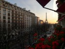 A night at the Plaza Athenee, Paris