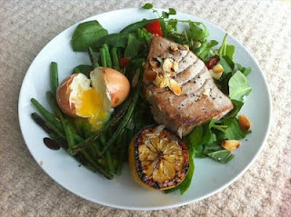 Cooking for one – a one pan sort-of Niçoise