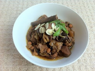 Lamb and prune tagine- a freezer full of fun