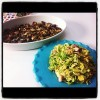 Brussel Sprouts, Bacon, Hazelnuts and Parmesan, Two Ways