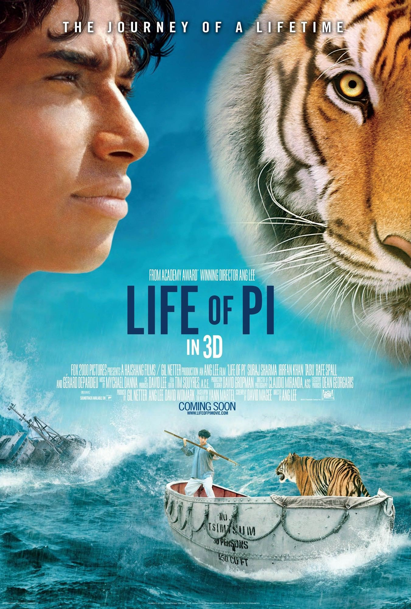Spiced ceviche boats with tiger 39 s milk life of pi for Life of pi in hindi
