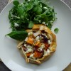 Sweet Potato, Red Onion and Feta Pie