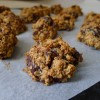 Brown Butter, Date and Oat Cookies