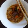 Korean Beef with Enoki Noodles