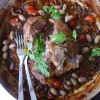 Five Hour Lamb with Olives and Goji Berries