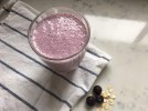 Blueberry, Oat and Chia Smoothies