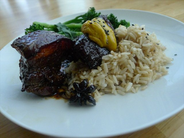 Japanese braised pork belly- and some notes about comfort food
